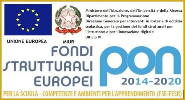 FONDI P.O.N 2014-2020 - PUBBLICITA' INIZIATIVA