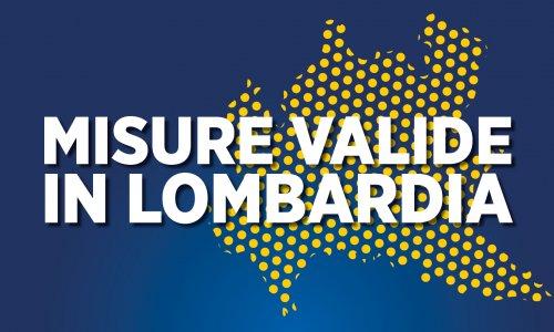 Misure valide in Lombardia